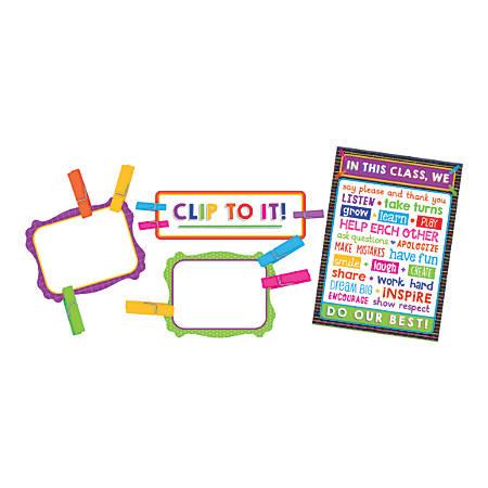 Carson-Dellosa Clip Chart Classroom Management Bulletin Board Set, Multicolor, Grades Pre-K - 5