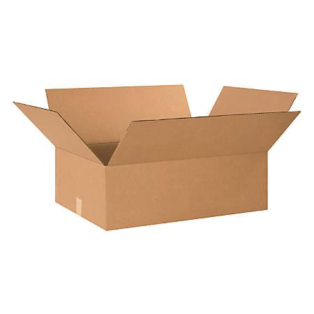 "Office Depot® Brand Corrugated Cartons, 24"" x 18"" x 8"", Kraft, Pack Of 20"