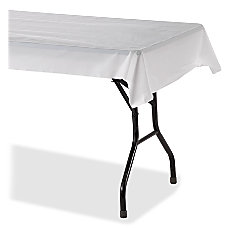 Genuine Joe Banquet size Plastic Tablecover