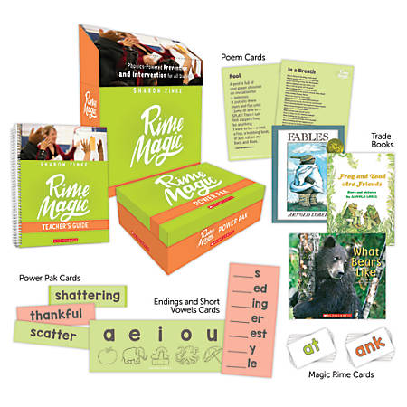 Scholastic Professional Rime Magic Phonics-Powered Prevention And Intervention For All Students, Kindergarten - Grade 8