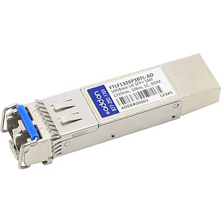 AddOn Finisar FTLF1326P3BTL Compatible TAA Compliant 6GBase-LW SFP+ Transceiver (SMF, 1310nm, 2km, LC, DOM)