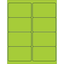 Office Depot Brand Labels LL179GN Rectangle