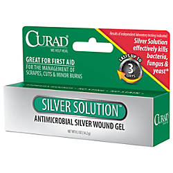 Curad Silver Solution Antimicrobial Gel 05
