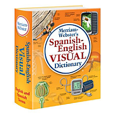 Merriam Websters Spanish English Visual Dictionary
