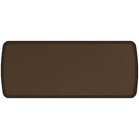 """GelPro Elite Vintage Leather Comfort Floor Mat, 20"""" x 48"""", Rustic Brown"""