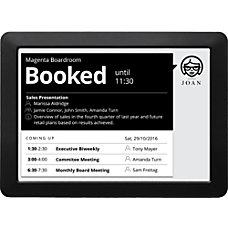 JOAN Meeting Room Scheduler 97 BlackWhite