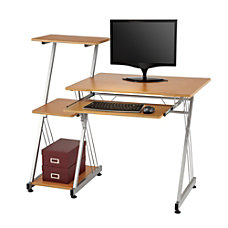 Brenton Studio Limble Computer Desk Birch