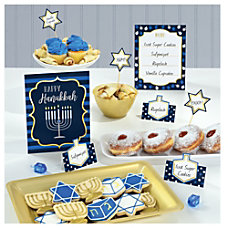 Amscan Hanukkah Buffet Decorating Kits Set
