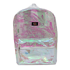 Dickies Clear Laptop Backpack White