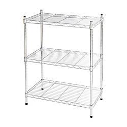 Realspace Wire Shelving 3 Shelves 30
