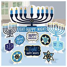 Amscan Hanukkah Menorah Table Decoration Kits