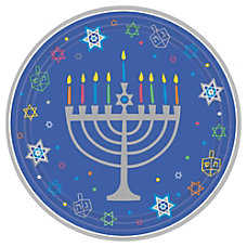 Amscan Hanukkah 8 Happy Nights Paper