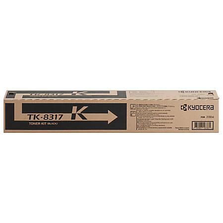 Kyocera TK-8317K Original Toner Cartridge - Laser - 20000 Pages - Black - 1 Each