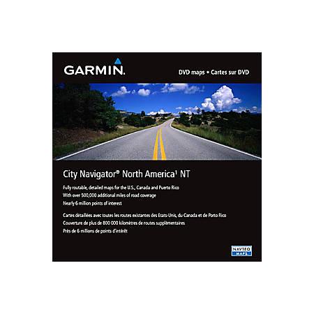 Garmin 010-11551-00 City Navigator North America NT Digital Map - North America - Canada, Mexico - Driving - microSD/SD Card