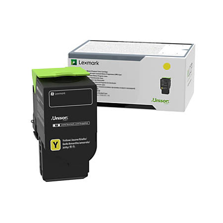 Lexmark™ C240X40 Extra High-Yield Return Program Yellow Toner Cartridge