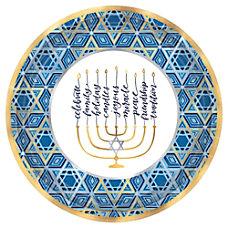 Amscan Hanukkah Festival Of Lights Round
