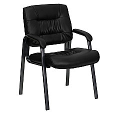 Flash Furniture Leather Executive Side Chair
