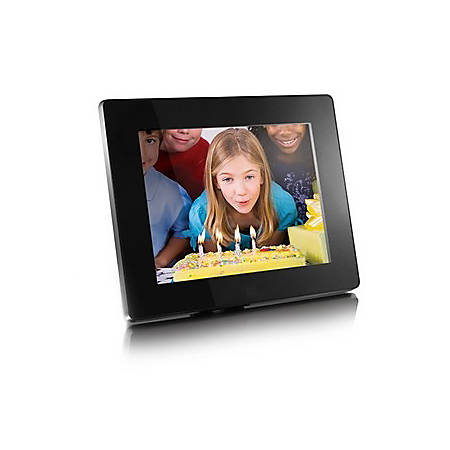 Aluratek Admpf108f Digital Photo Frame By Office Depot Officemax