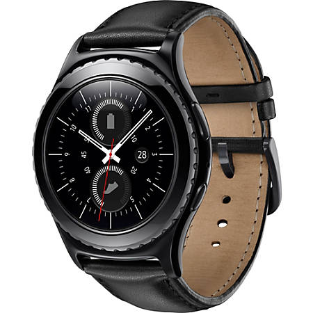 Samsung Gear S2 Classic Smart Watch, Black