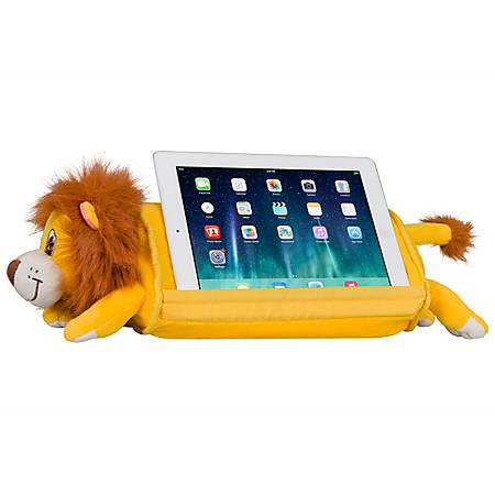 """LapGear Lap Pets Tablet Pillow, 19-1/2"""" x 6-7/8"""", Lion"""