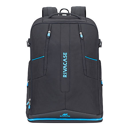 """RIVACASE 7890 Borneo Drone Backpack With 16"""" Laptop Pocket, Black"""
