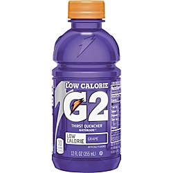 Gatorade Quaker Foods G2 Grape Sports