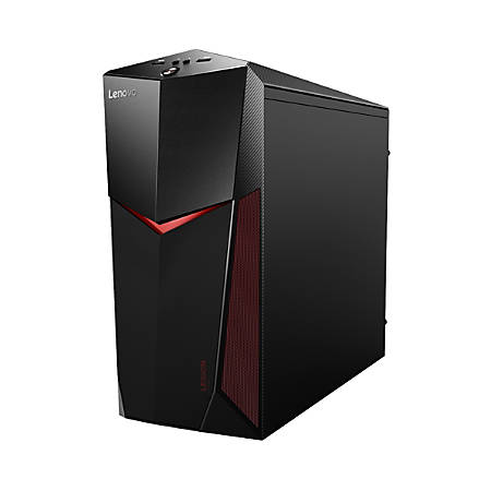 Lenovo Legion Y520T-25ICZ ES 90JB003FUS Gaming Desktop Computer - Intel Core i7 (8th Gen) i7-8700 3.20 GHz - 8 GB DDR4 SDRAM - 1 TB HDD - 128 GB SSD - Windows 10 Home 64-bit (English)