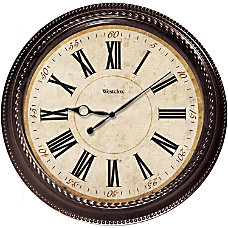 Westclox Wall Clock Analog Quartz