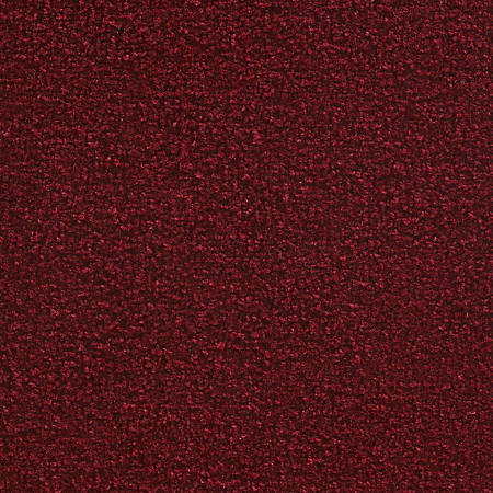 M + A Matting Stylist Floor Mat, 3' x 6', Cranberry
