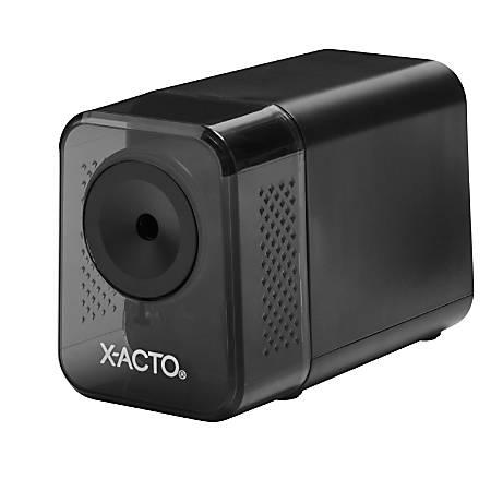 X-ACTO® XLR™ Electric Pencil Sharpener, Black