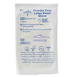 Medline Disposable Powder Free Latex Exam