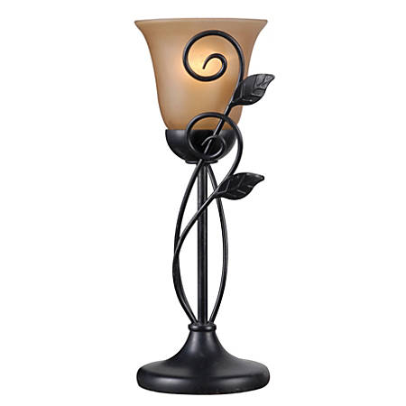 """Kenroy Home Arbor Table Torchiere, 9-3/4""""H, Oil-Rubbed Bronze"""