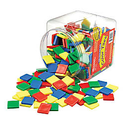 Learning Resources Square Color Tiles Ages