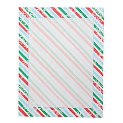 Gartner Studios Holiday Stationery Sheets Stripe