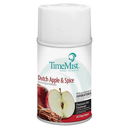 TimeMist® Metered Air Freshener Refill, Dutch Apple & Spice