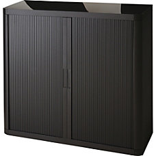 Paperflow USA Black 41 Storage Cabinet