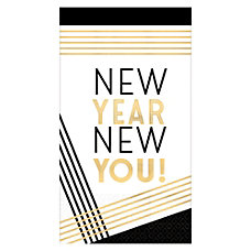 Amscan New Year New You 2