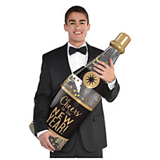 Amscan New Years Champagne Bottle Props