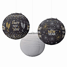 Amscan Happy New Years Paper Lanterns
