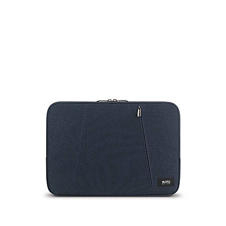 "Solo® Oswald Computer Sleeve For 13.3"" Laptops/Tablets, Blue, SLV1613-5"