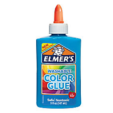 Elmer s Washable Color Glue Blue