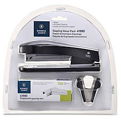 Business Source Stapling Value Pack 20