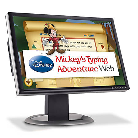 Disney Mickey's Typing Adventure Web - Annual Subscription, Download Version