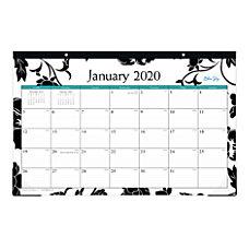 Blue Sky Monthly Desk Pad 17
