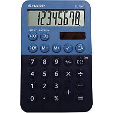 Sharp EL 760RBBL Desktop Calculator 3