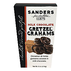 Sanders Milk Chocolate Gretzel Grahams 6