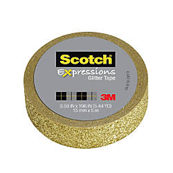 Scotch Expressions Glitter Tape 059 x