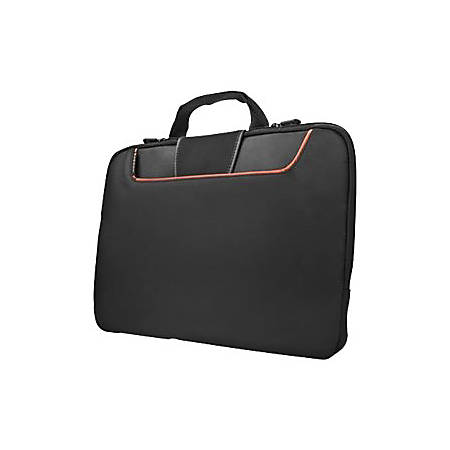 "Everki Commute EKF808S13 Carrying Case (Sleeve) for 13.3"" Notebook - Black - Polyester - 10.6"" Height x 13.8"" Width x 1.4"" Depth"