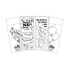Barker Creek Bookmark Duets 100th Day
