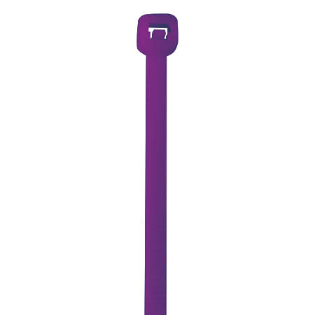 """Office Depot® Brand Color Cable Ties, 11"""", Purple, Case Of 1,000"""